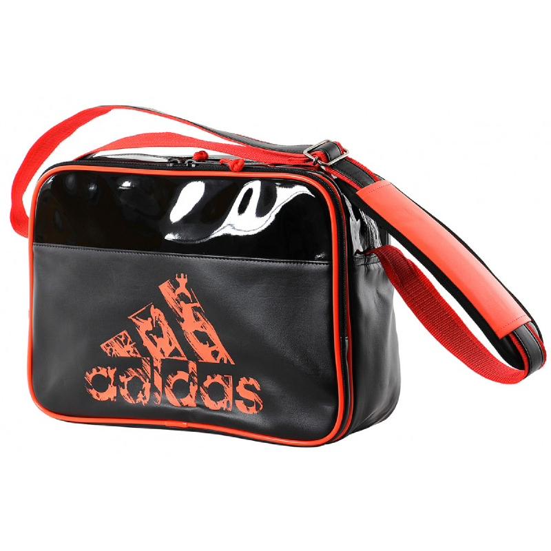 Adidas Combat Leisure Messenger Black Solar Orange