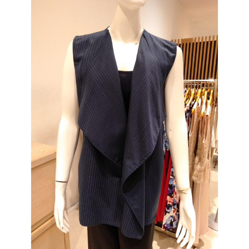 Basa Maja Outerwear Blue Stripe