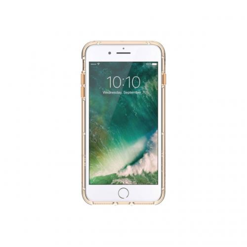Survivor Clear for iPhone 7+, 7+ Dual, 6s+, 6+ in Gold and Clear Color and Clear Color (GB42926)