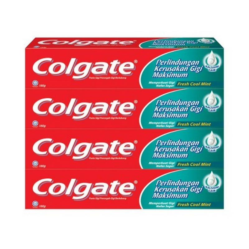 Colgate Fresh Cool Mint 180 g - Multipacks 4