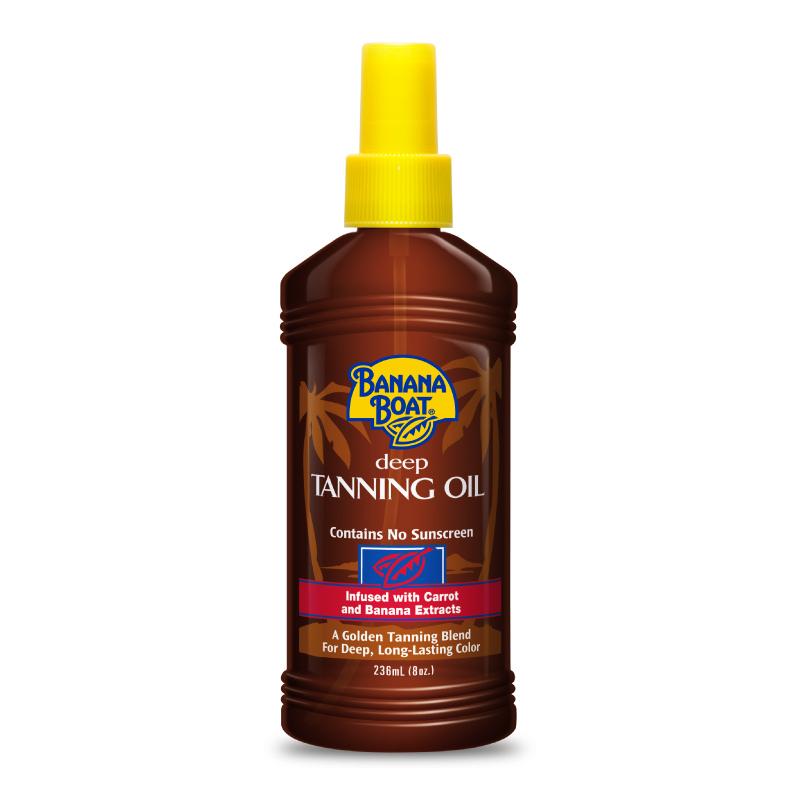 Banana Boat Deep Tanning Oil 236ml