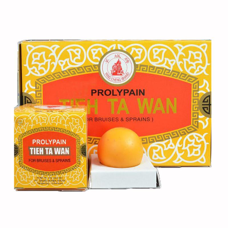 Prolypain (Tieh Ta Wan) - Box Besar isi 12 Box Kecil