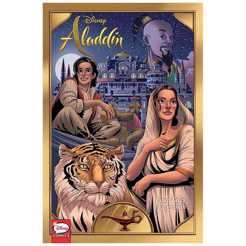 Disney Aladdin Four Tales of Agrabah (Graphic Novel)