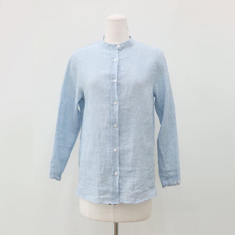 Biscuit Shirt (2color) - BLUE