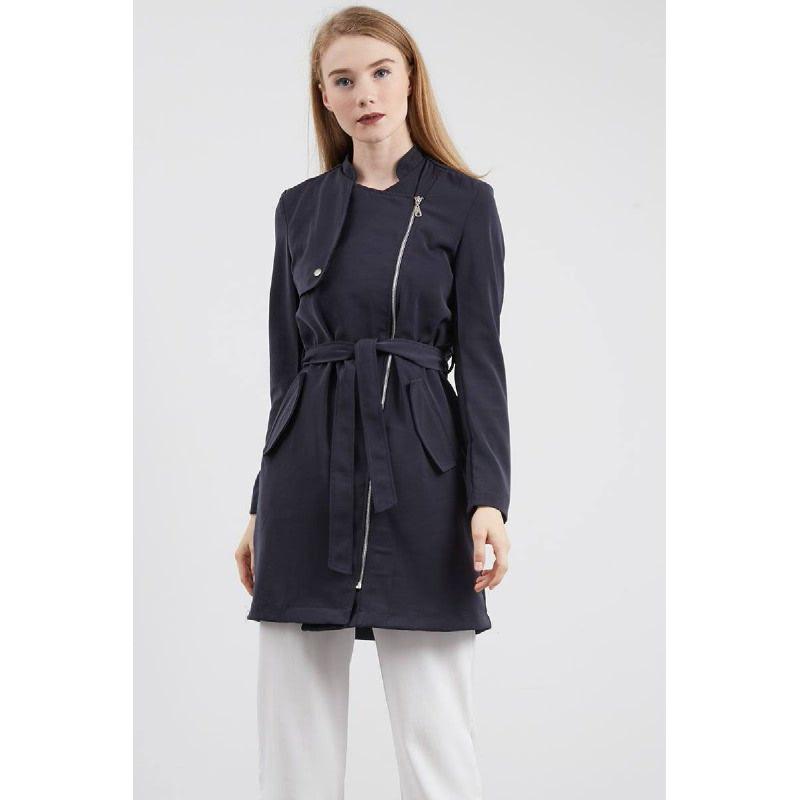 Synne Coat Grey