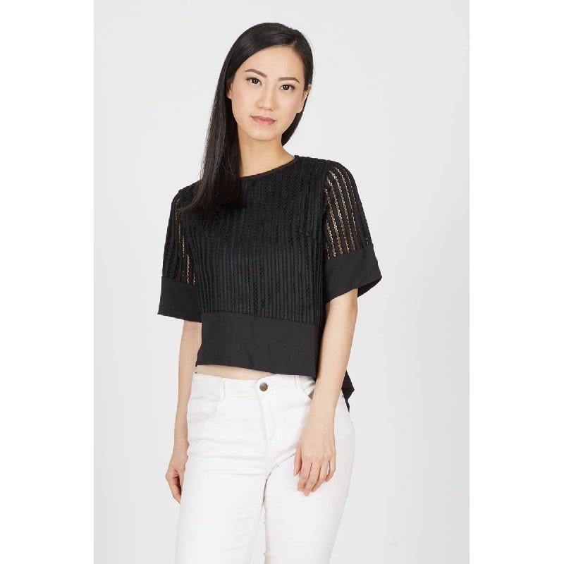 GW Hunfeld Top in Black