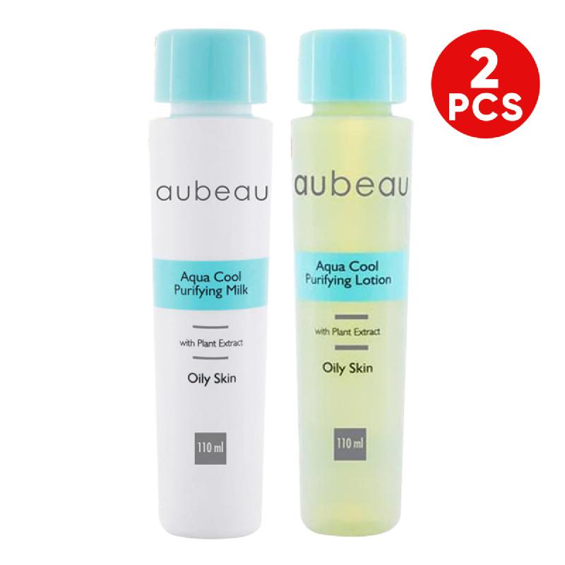 aubeau Aqua Cool Purifying Lotion + aubeau Aqua Cool Purifying Milk
