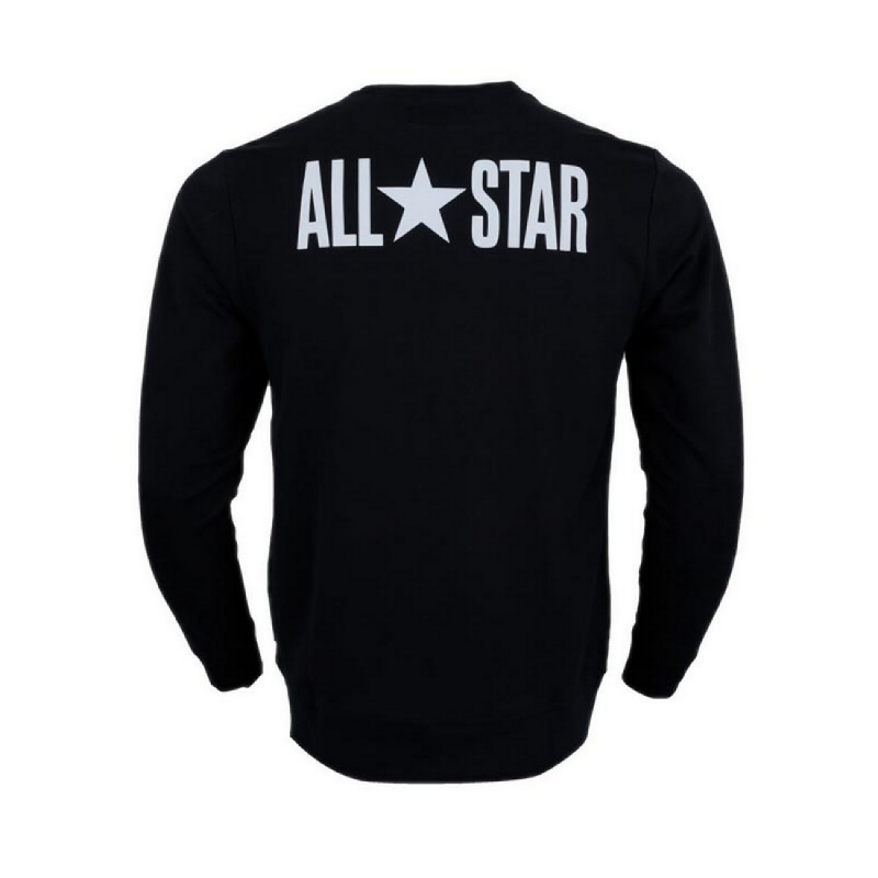 Converse All Star Men Sweater - Black