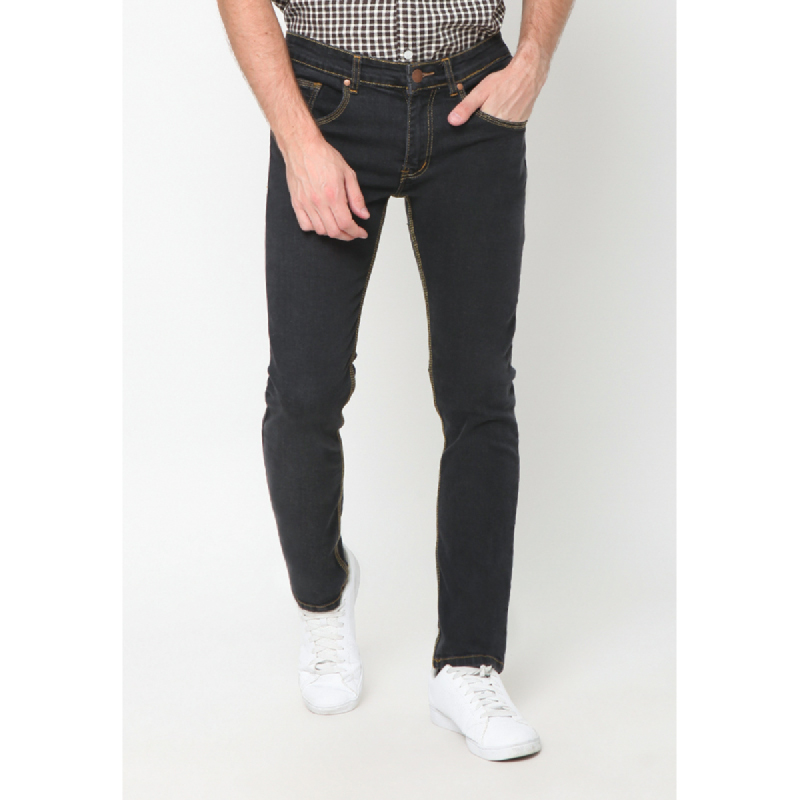 17Seven Jeans Denim Duffero Grey black