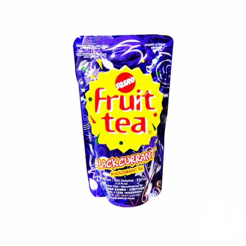 Fruit Tea Blackcurrant 230Ml [Pouch]