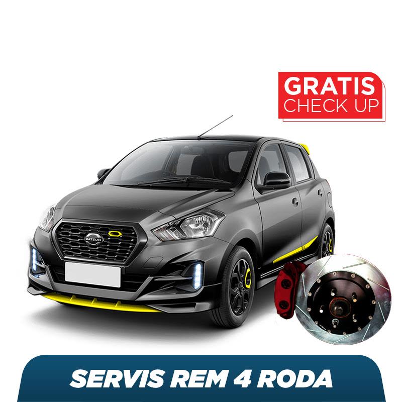 BOS Servis Rem 4 Roda + Free Check-Up 58 Komponen Kendaraan