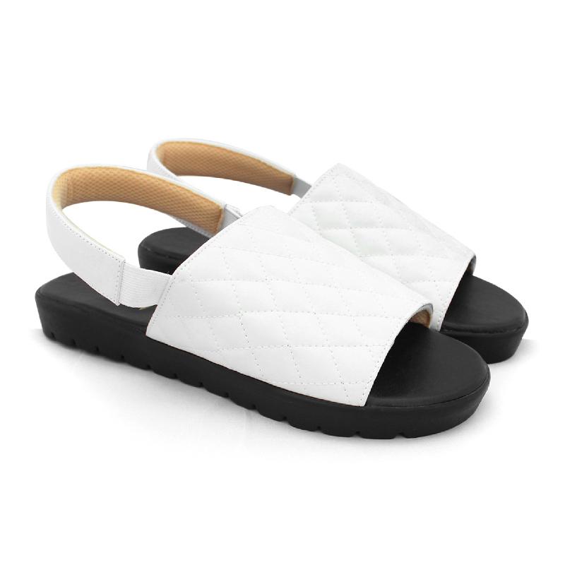 Alivelovearts Sandals Sliponch White