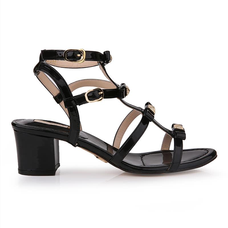 Jinny Kim - Annie Heels Black (Size 36)