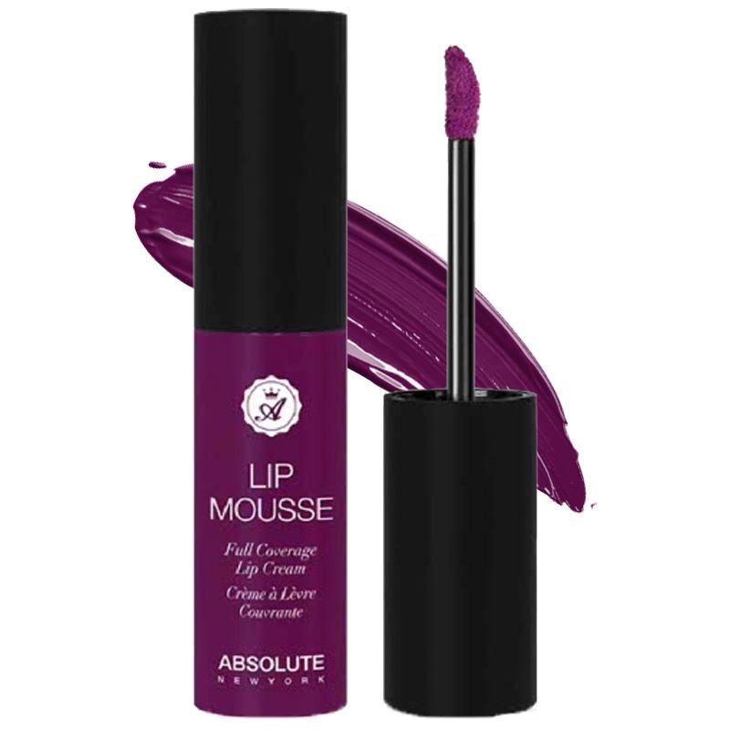Absolute New York Lip Mousse Full Coverage Lip Cream Voodoo