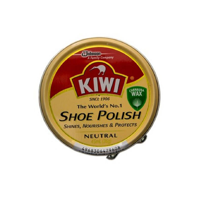 Kiwi Paste Shoe Polish Neutral 45Ml