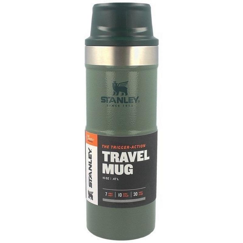 Stanley Trigger Action Travel Mug 473Ml Green