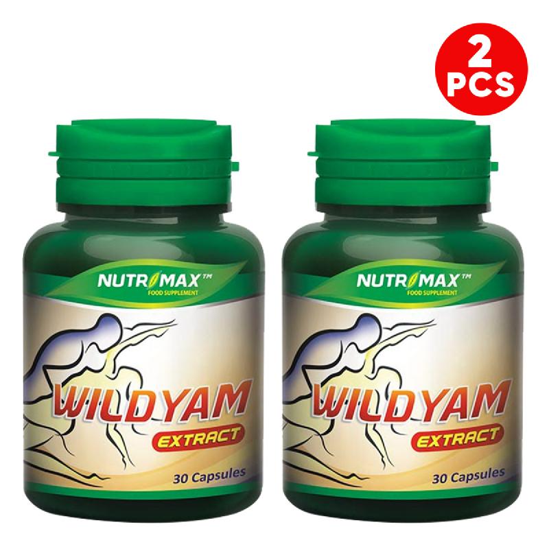 Buy 2 Bottle Nutrimax Wild Yam Extract 30 Naturecaps