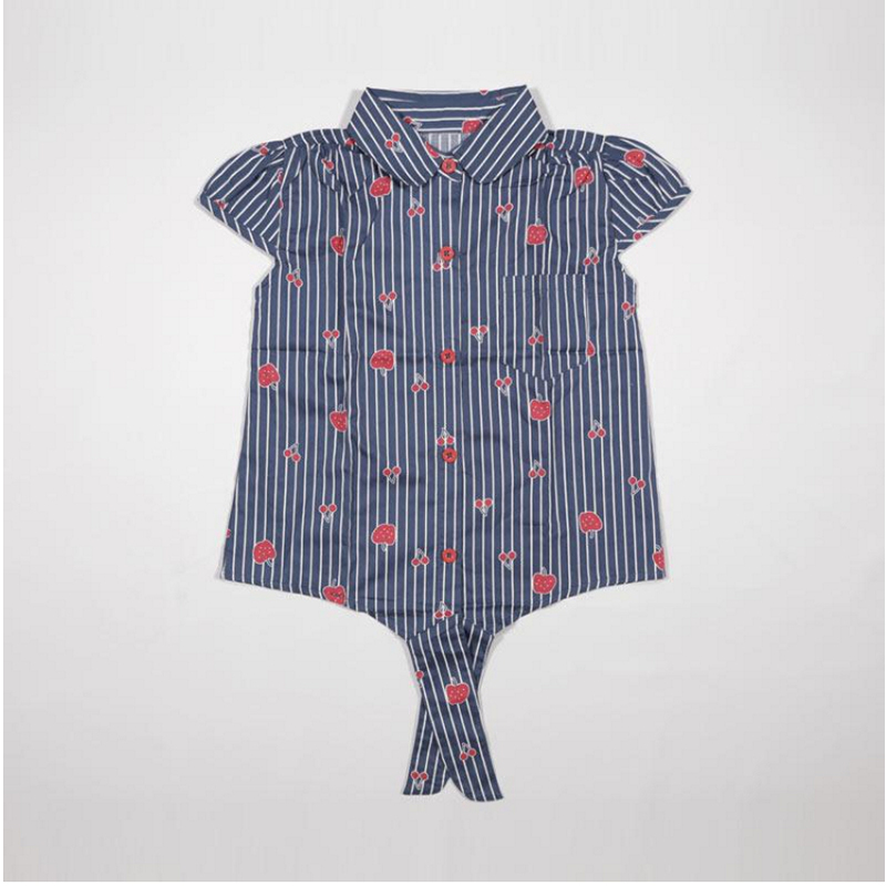 4 You Red Stripe Blouse
