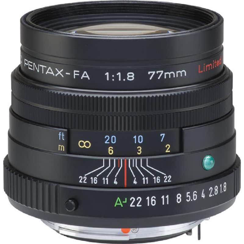 Pentax SMC FA 77MM F1.8 LIMITED W,C SILVER