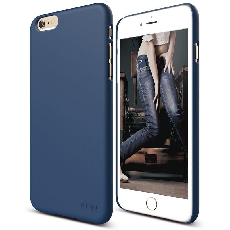 Elago Slimfit 2 Case for iPhone 6, 6S - SF Jean Indigo (Matte)