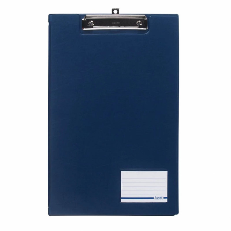 Bantex Clipboard With Cover Folio Blue -4211 01