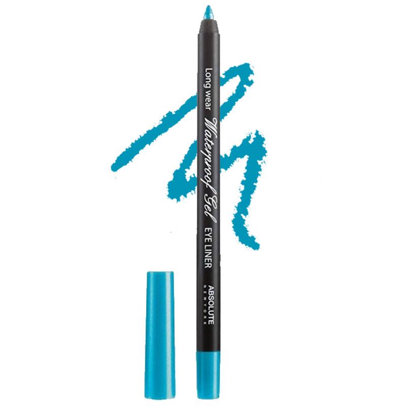 Absolute New York Long Wear Waterproof Gel Eye Liner Turquoise