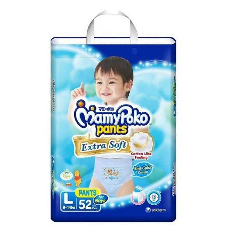 Mamypoko Popok Celana Extra Soft L 52S (Boy)