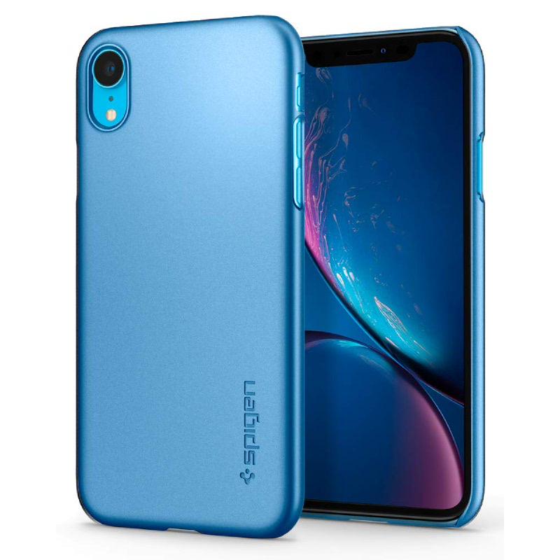 Spigen iPhone XR Case Thin Fit - Blue