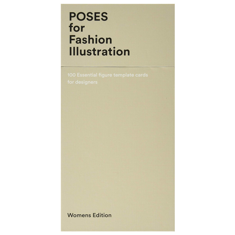 100 Pose Cards (Women s figure templates for fashion illustration)