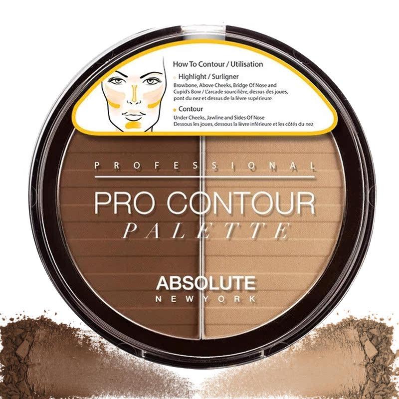 Absolute New York Pro Contour Palettes Dark