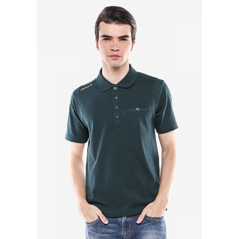 Regular Fit Kaos Polo Hijau Polo Premium