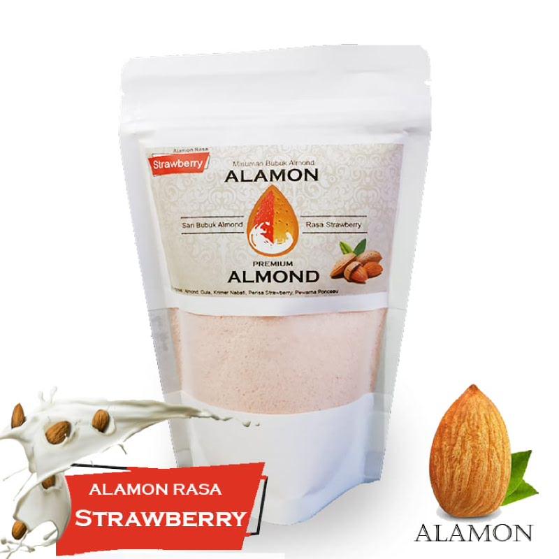 Alamon Milk Rasa Strawberry