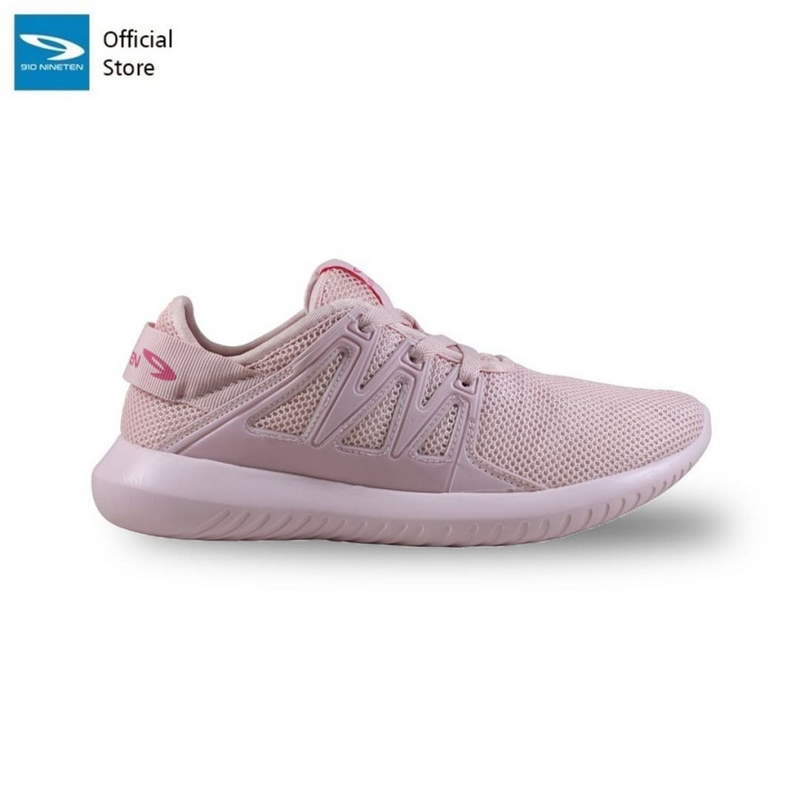 910 Nineten Shinjicora Sepatu Lari - Pink