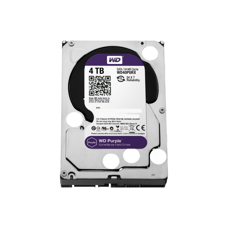 AV WD Purple™ 3.5 4TB 5400 RPM