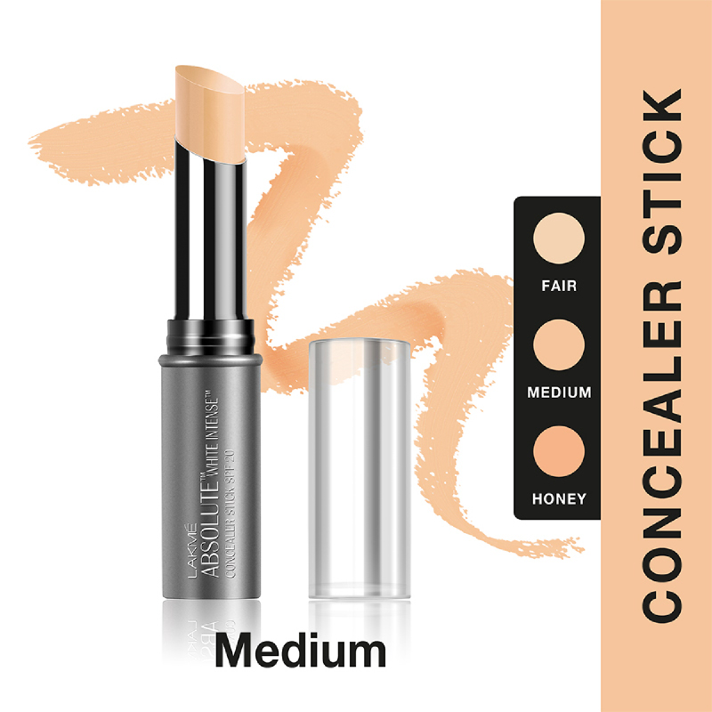 Lakme Absolute Reinvent White Intense Concealer Stick - Medium