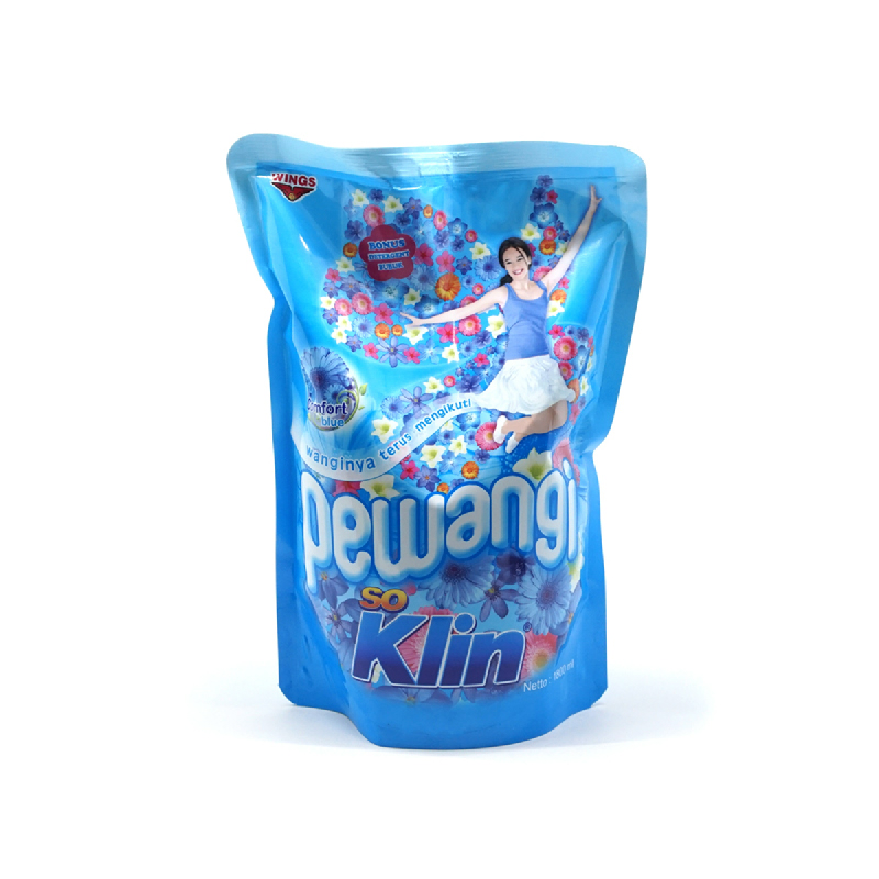 So Klin Pewangi Biru Pouch 1800Ml