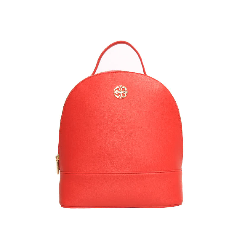 Les Catino Pebbles Backpack Acc Red Cayenne