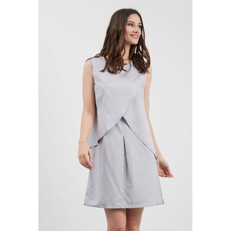 GW Kirtoff Dress in Grey