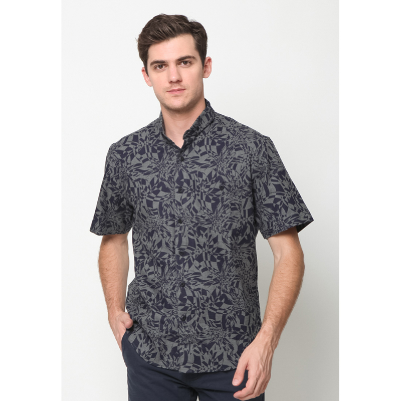 17Seven Shirts Shortshirt Essengn Dark Grey
