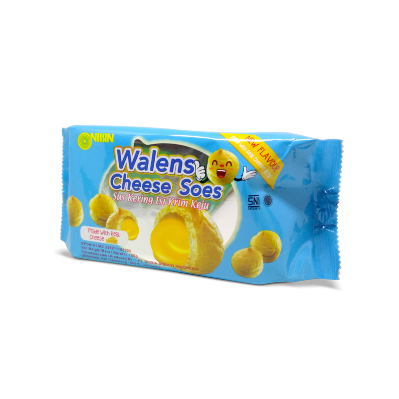 Nissin Walens Cheese Soes 100 gr