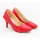 Alivelovearts Pump Heels Red