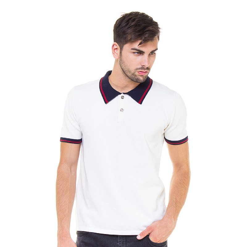Off White Basic Polo Shirt
