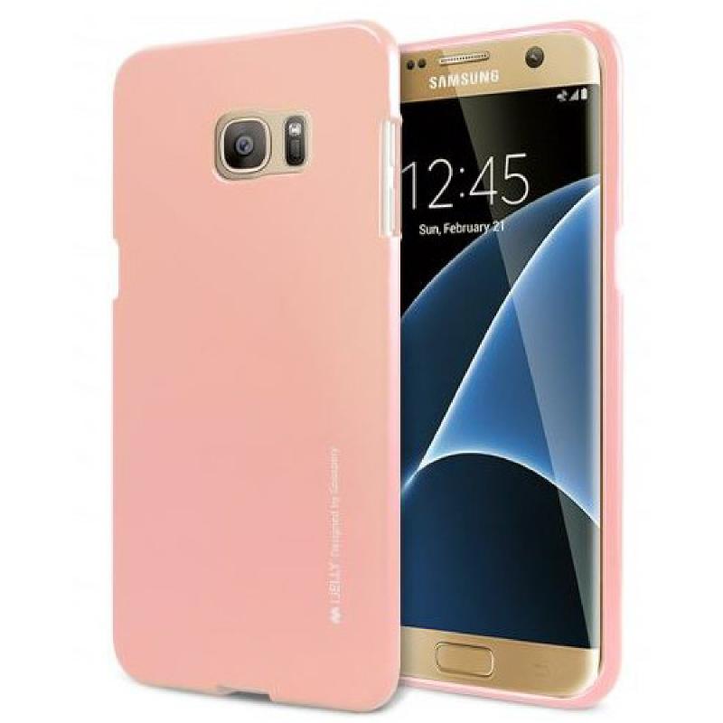 Goospery I Jelly Samsung Galaxy S7 Edge - Pink