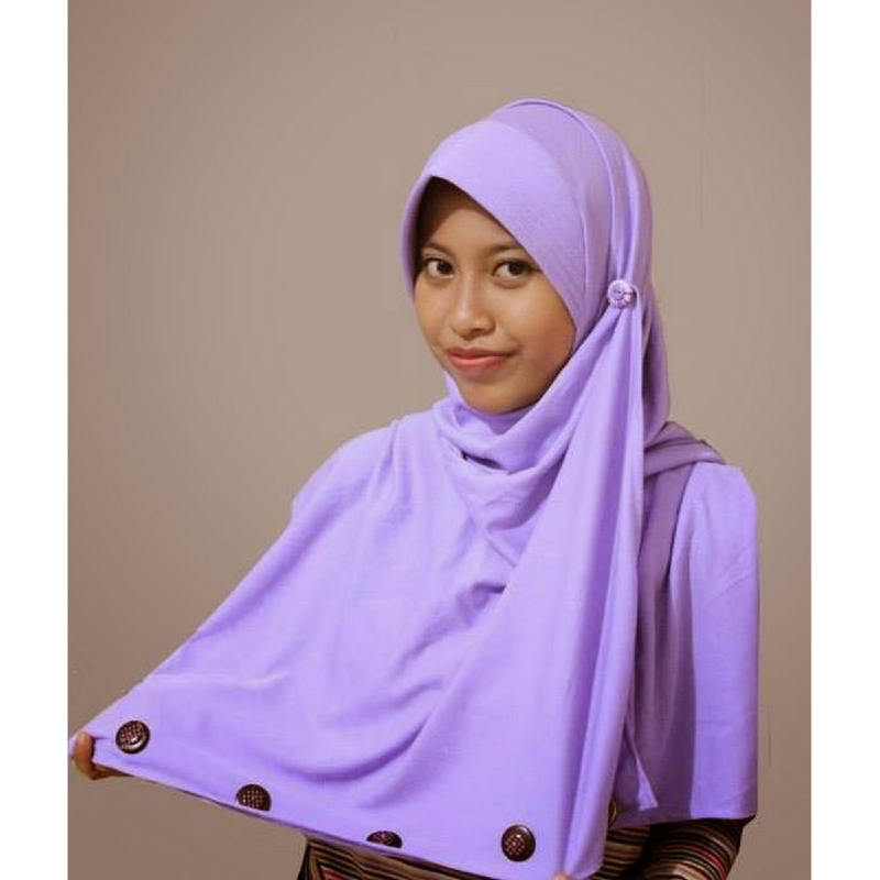 Dianta Collection Pasmina Instan Iris U Ungu