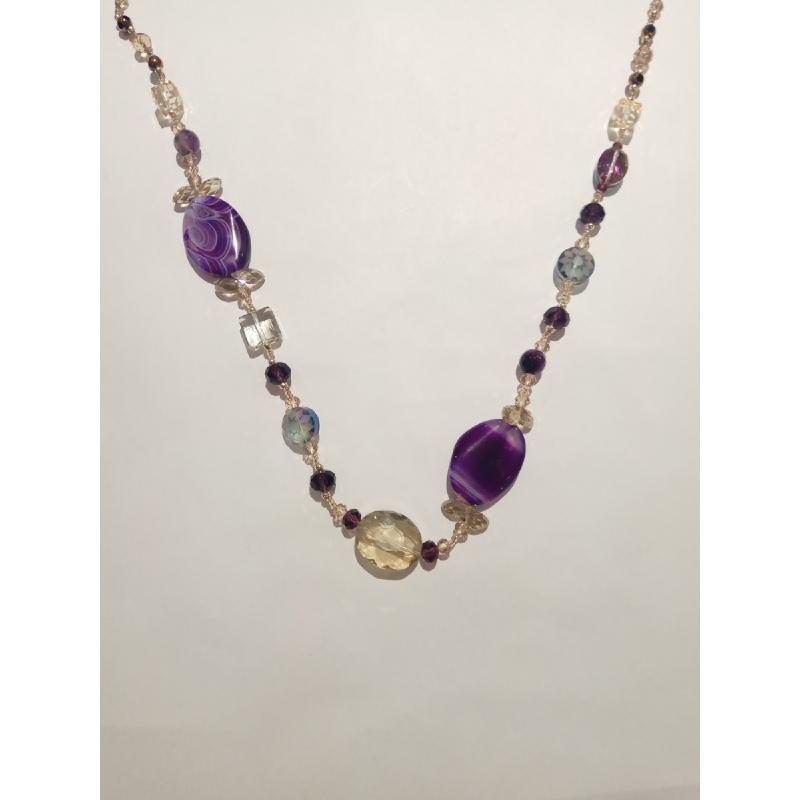 Ballin - Women Necklace ZB N076 Purple