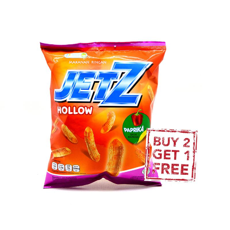 Jetz Hollow Paprika 40G (Buy 2 Get 1)
