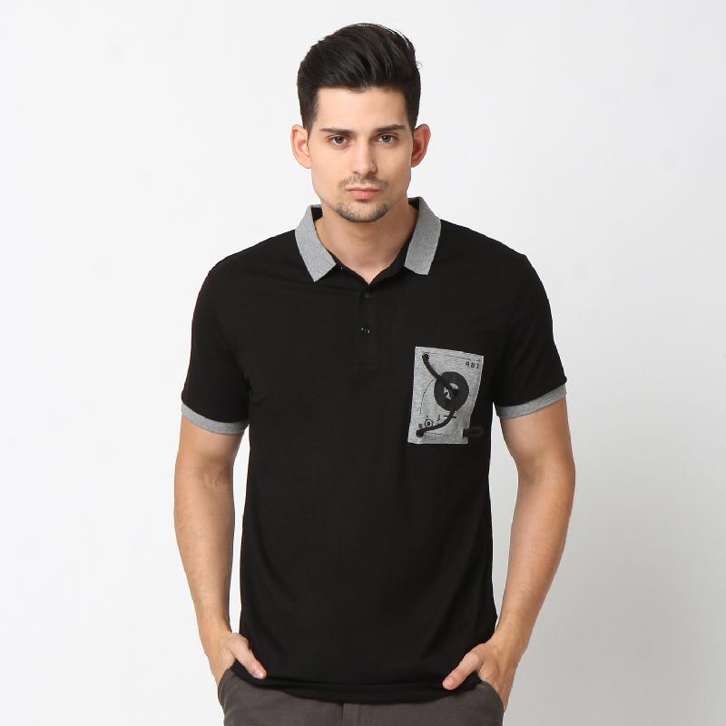 RBJ Polo Shirt 25675024 Hitam