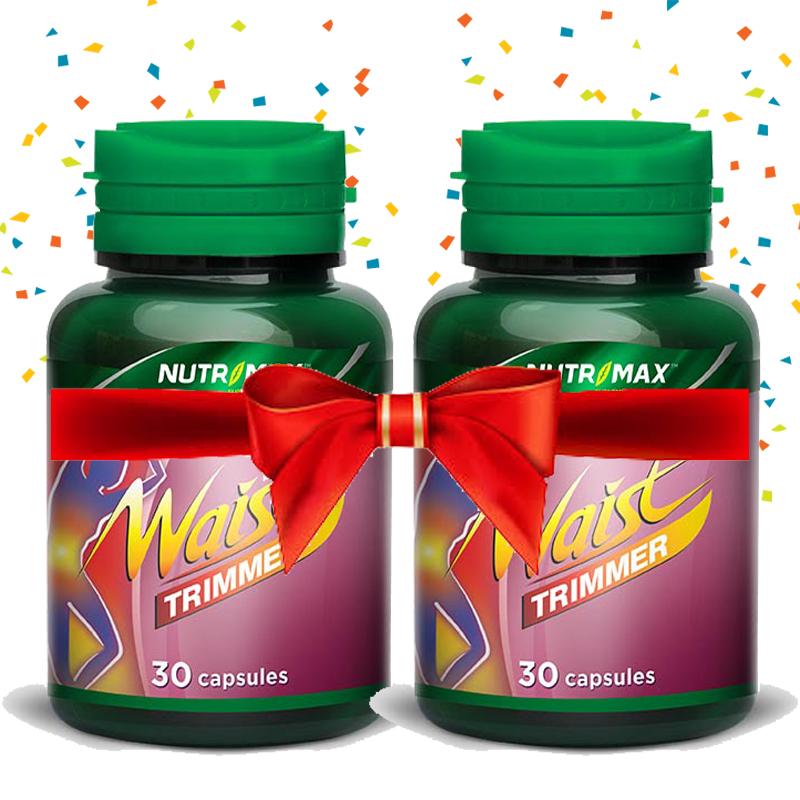 Buy 2 Bottle Nutrimax Waist Trimmer 30 Naturecaps