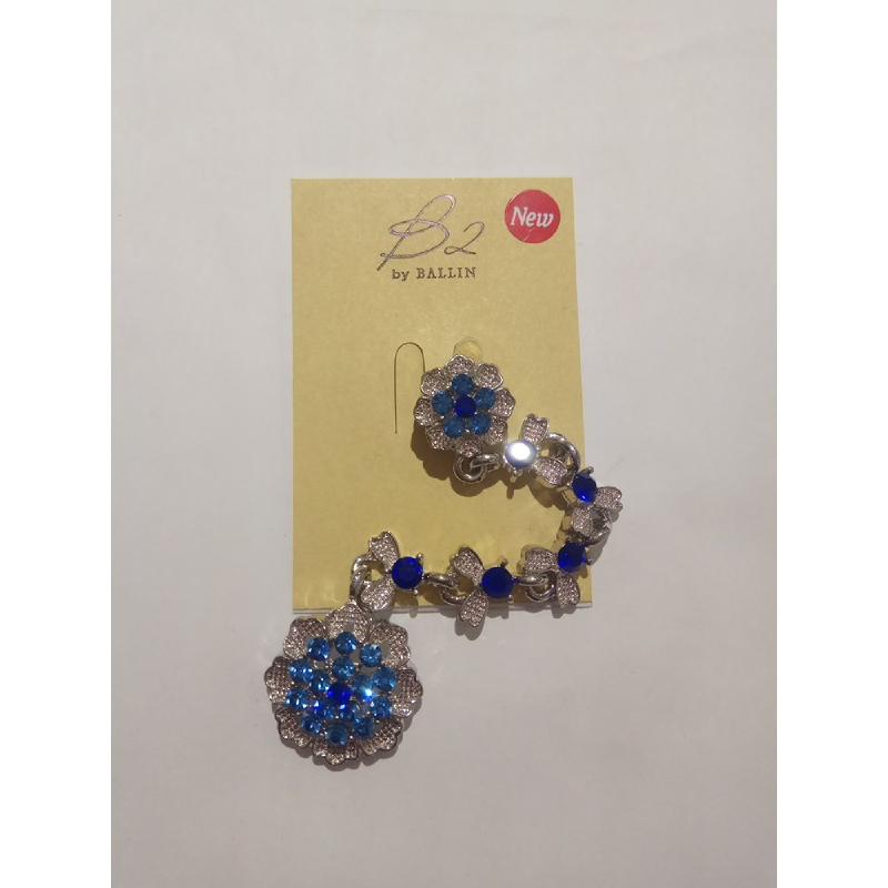 Ballin Women Brooch XP-BR162S Blue