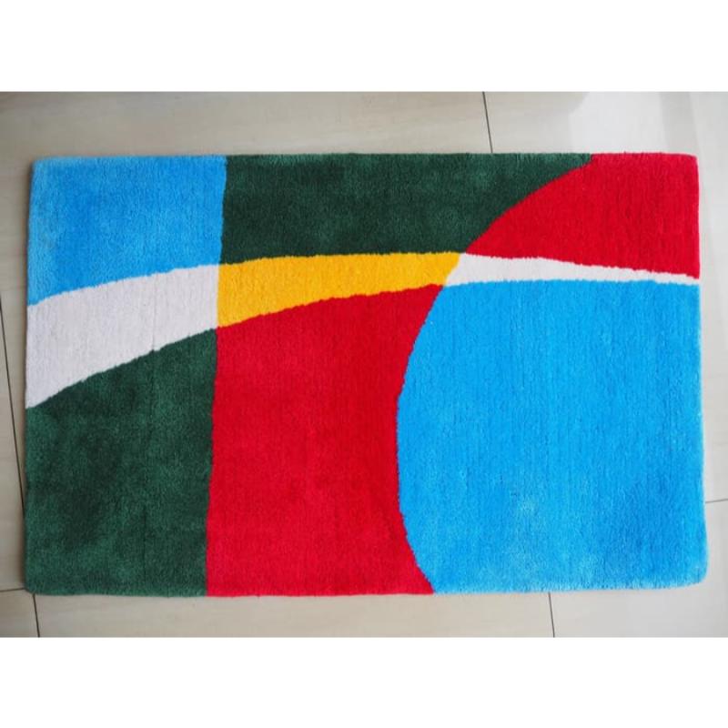Karpet handtuft 450 tahan api motif 6 50x80 cm